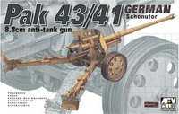 Pak 43/41 German Scheuntor 8.8cm Anti-Tank Gun 1/35 AFV Club