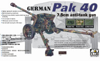 Pak 40 7.5cm Anti-Tank Gun 1/35 AFV Club