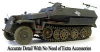 SdKfz 251/1 Ausf C Halftrack 1/35 AFV Club