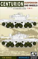 Centurion Workable Suspension & Wheels Set 1/35 AFV Club