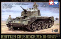 Crusader Mk III Anti-Aircraft Tank 1/48 Tamiya