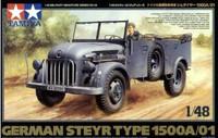 Steyr Type 1500A/01 Military Vehicle 1/48 Tamiya