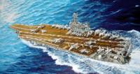 USS Theodore Roosevelt CVN71 Aircraft Carrier 2006 1/700 Trumpeter