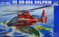 HH-65A Dolphin Search and Rescue Helicopter 1/48 Trumpeter