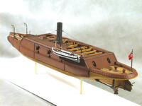 "CSS Arkansas Ironclad Warship (23""L) 1/96 Cottage Industries"