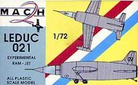 Leduc 021 Experimental Jet 1/72 Mach 2 Models