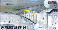 Panzerzug Bp44 Military Railway Convoy 1/72 Mach-2 Models