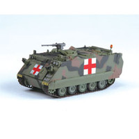 M-113A2 Tank US Army (Red Cross) (Built-Up Plastic)  Easy Model MRC