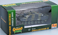 British Challenger II Tank British Army (Built-Up Plastic) Easy Model MRC