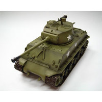 M-4A3E8 Middle Tank US Army (Built-Up Plastic)  Easy Model MRC