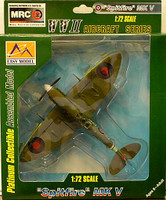 Spitfire Mk V RAF 303rd Sq. 1942 WWII (Built-Up Plastic)  Easy Model MRC