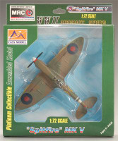 Spitfire Mk V RAF 317th Sq. 1941 WWII (Built-Up Plastic)  Easy Model MRC