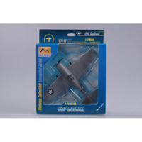 F6F Hellcat VF-4 1942 WWII (Built-Up Plastic)  Easy Model MRC