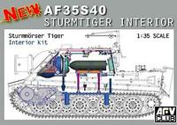 Sturmtiger Interior Conversion Kit 1/35 AFV Club