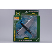 P-47D Thunderbolt 355th FS/354th FG WWII (Built-Up Plastic)  Easy Model MRC
