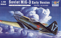 Mig-3 Early Version Fighter 1/48 Trumpeter