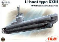 U-Boat Type XXIII 1/144 Icm Models