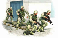 US Army in Iraq 2005 Figure Set (4) 1/35 Trumpeter