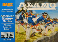 Mexican Round Hat Infantry 1/72 Imex