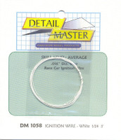 3ft. Race Car Ignition Wire White Detail Master