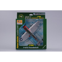 P-47D Thunderbolt 513th FS/406th FG WWII (Built-Up Plastic)   Easy Model MRC