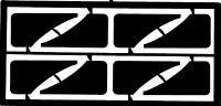 Small Mud Flaps (8pcs) Detail Master