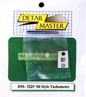 60's Style Tachometer Detail Master