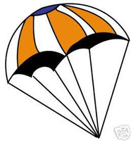 18 Inch Parachute  Estes Rockets