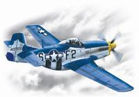 P-51D Mustang US AF Fighter 1/48 ICM Models