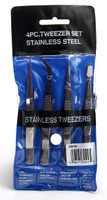 Tweezer Set 4 Piece  Excel Tools