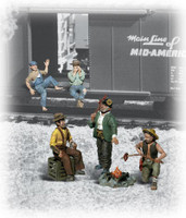 Scenic Accents Hobos O Scale Woodland Scenics