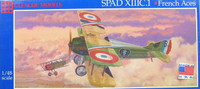 Spad XIII French Aces Fighter 1/48 Glecoe
