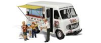 Ike's Ice Cream Truck HO Scale Woodland Scenics