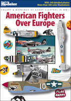 Colors & Markings Of USAAF Fighters in WWII: American Fighters Over Europe Kalmbach