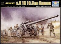 S.10cm K18 Field Howitzer German 1/35 Trumpeter