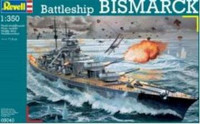 Bismarck Battleship 1/350 Revell Germany