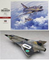 J35-F/J Draken Swedish Interceptor 1/48 Hasegawa