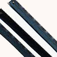 Junior Hacksaw Blades (.250 x .015 x 15TPI) (For Wood) (3) Zona Tools