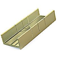 """Aluminum Miter Box (2"""" x .014"""") Zona Tools"""