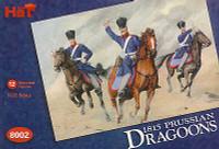 Napoleonic 1815 Prussian Dragoons & Horses (24) 1/72 Hat