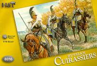 Napoleonic Russian Cuirassiers & Horses (24) 1/72 Hat