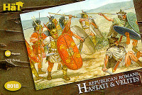 Republican Romans Hastati & Velites (48) 1/72 Hat