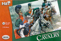 Napoleonic Bavarian Cavalry (12 Mounted) 1/72 Hat