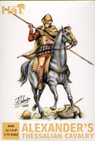 Alexanders Thessalian Cavalry w/Horses (24) 1/72 Hat