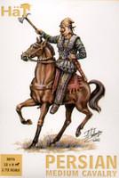 Persian Medium Cavalry w/Horses (24) 1/72 Hat