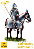 Late Roman Cataphracts (Knights) (12 Mounted) 1/72 Hat
