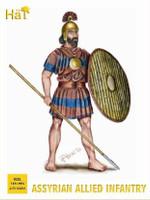 Assyrian Allied Infantry (116) 1/72 Hat