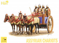 Assyrian Chariots (3 Sets) (4ea Soldiers, Horses & 3 Chariots) 1/72 Hat