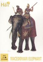 Macedonian Elephant (2 w/2 Riders) 1/72 Hat