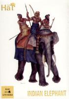 Indian Elephant (2 w/3 Riders) 1/72 Hat